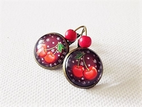 Bronzefarbene Brisur - 16 mm - Winter Cherry